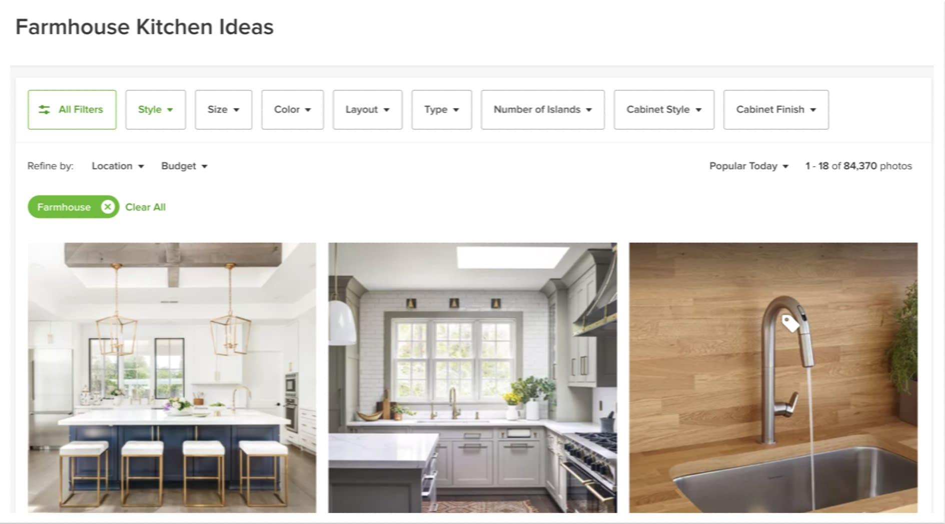 Houzz Ideabooks - kitchen remodel