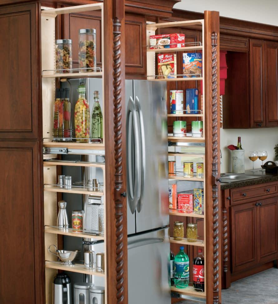 thin pantry storage