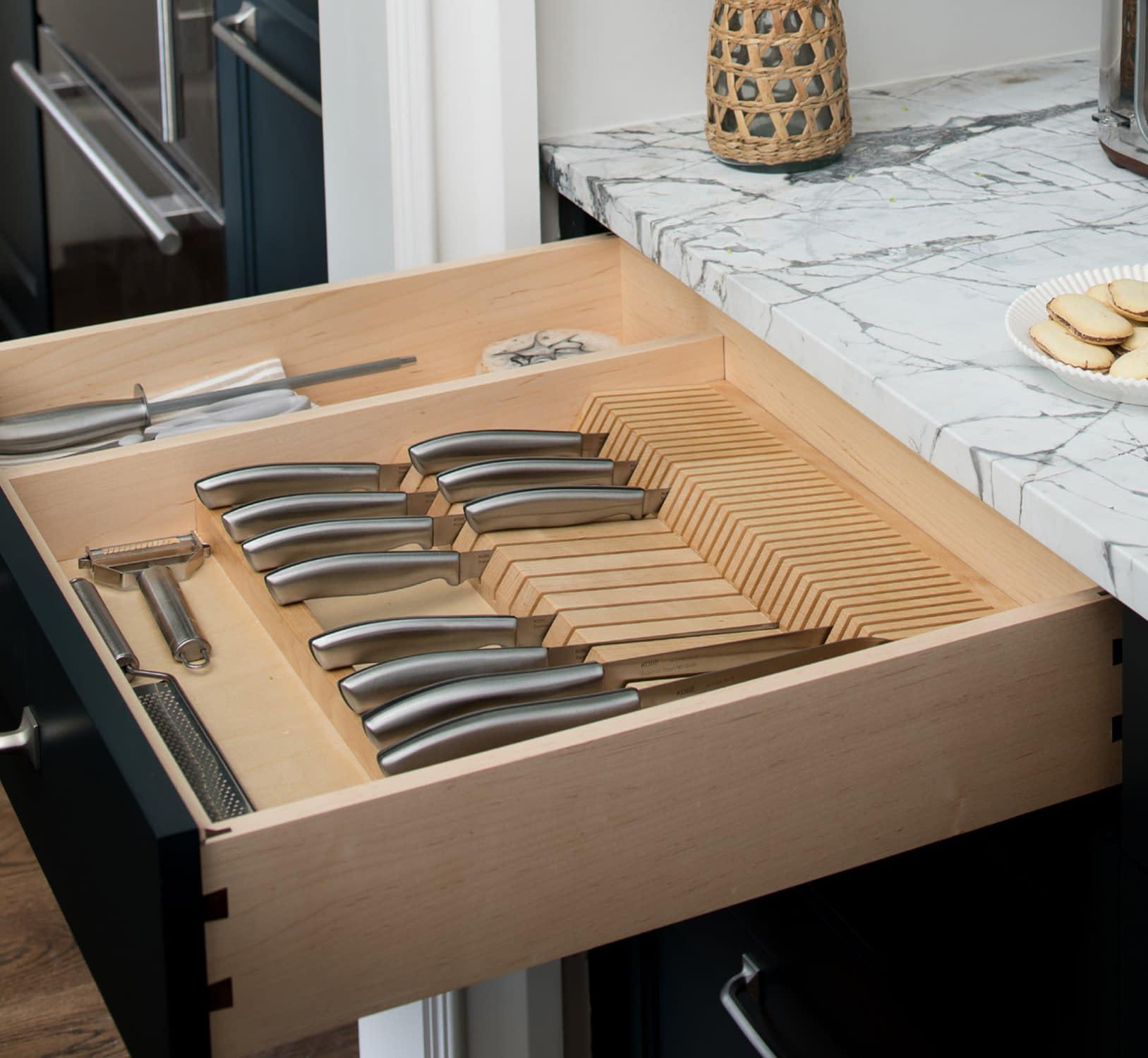 full knife set storage