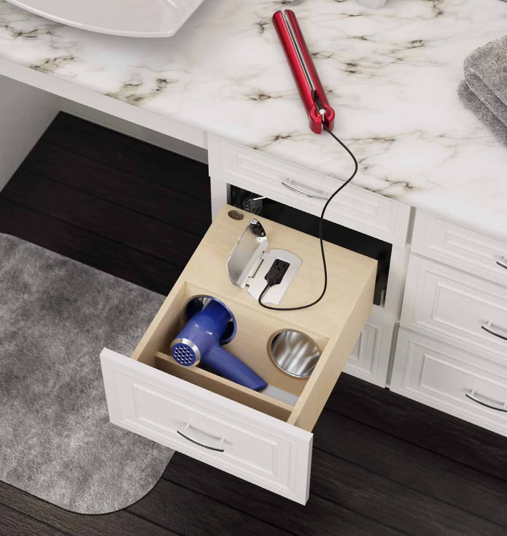 bathroom drawer storage