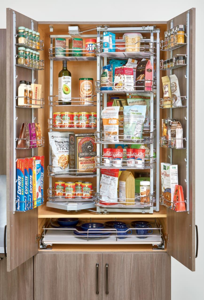 larger pantry organization