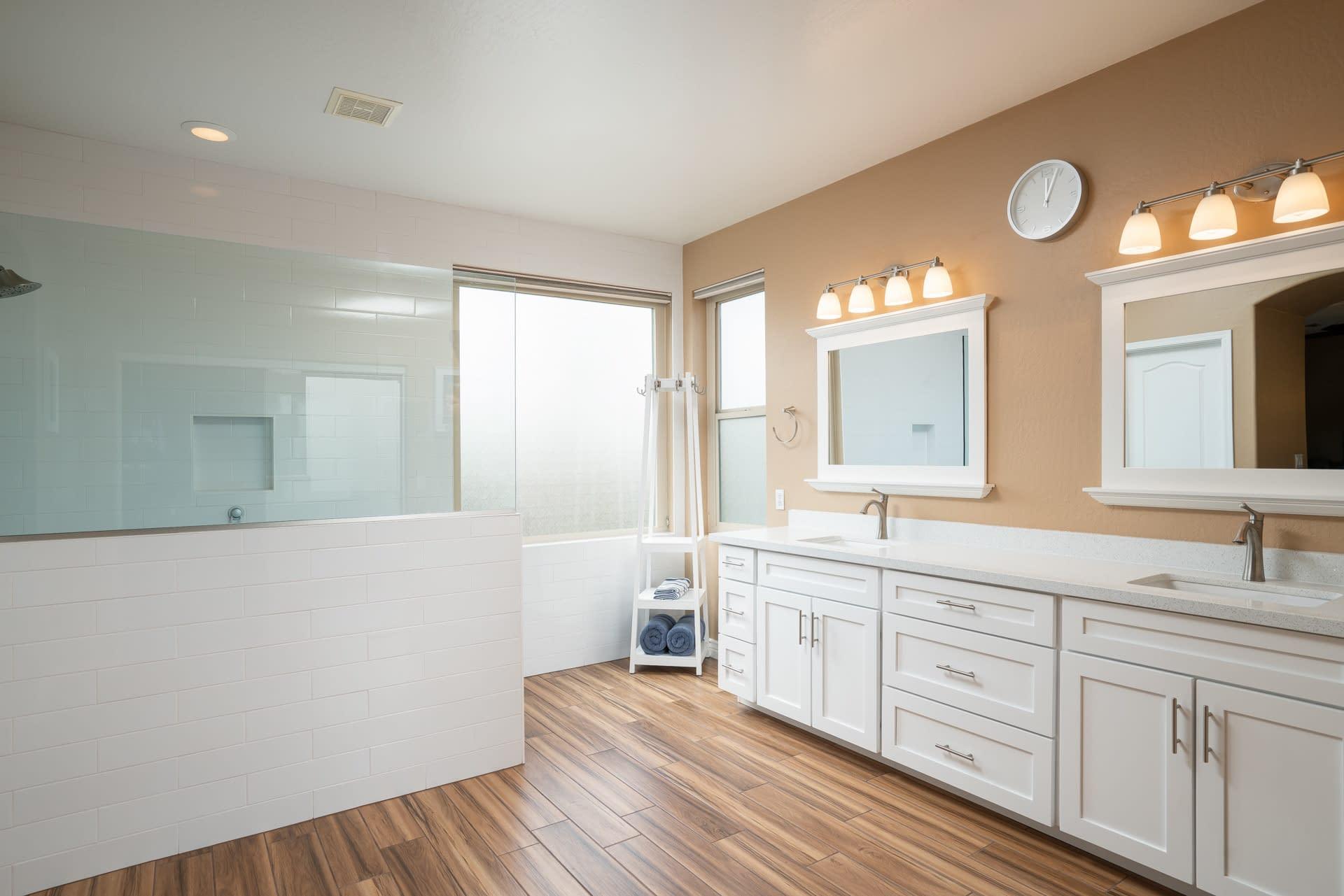 master bathroom remodel in Chandler after