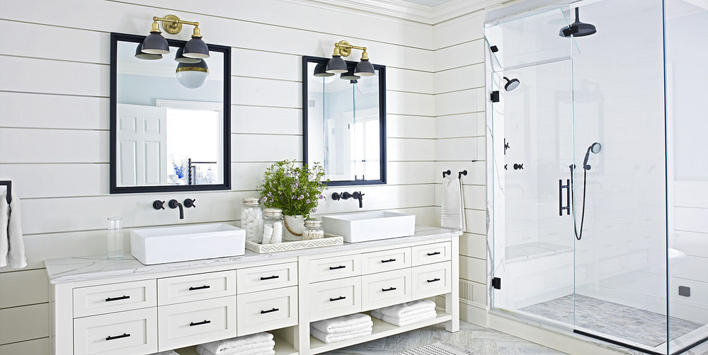 bathroom remodel white