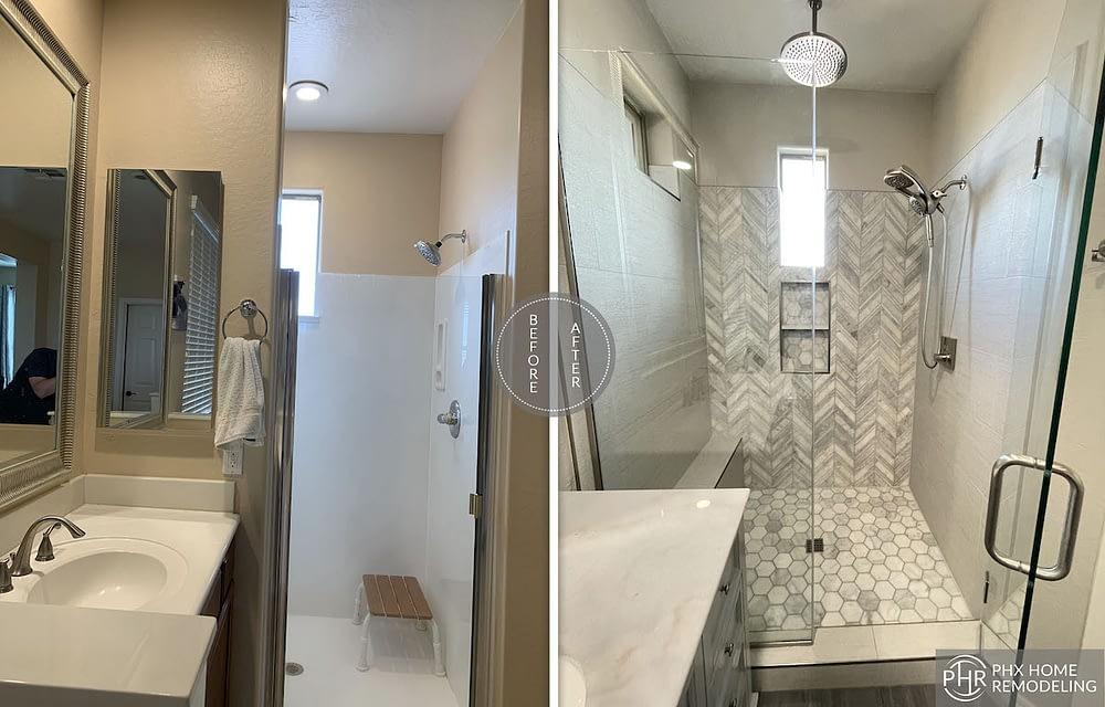 chandler shower renovation arizona