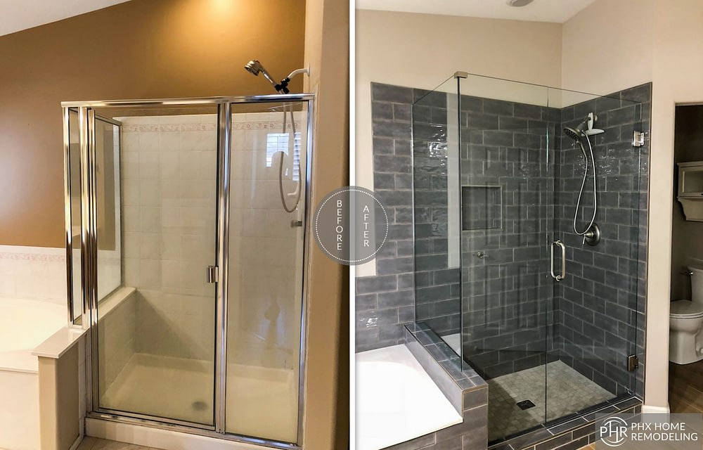 shower remodeling in ahwatukee