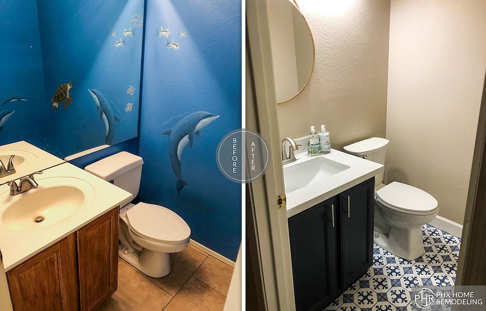 small bathromm idea remodeling in ahwatukee