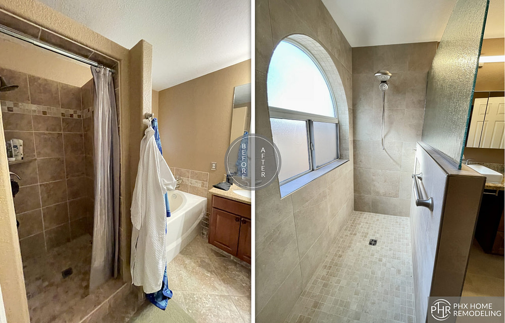 shower remodeling simple in chandler arizona