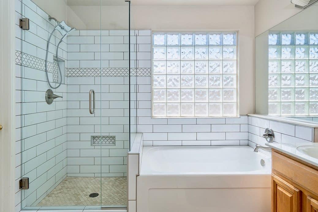 Master bathroom remodel in Chandler Arizona