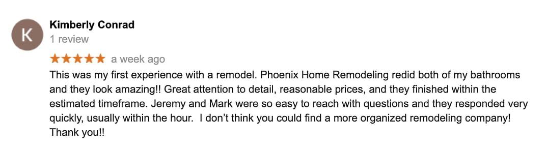 Kim conrad PHR review