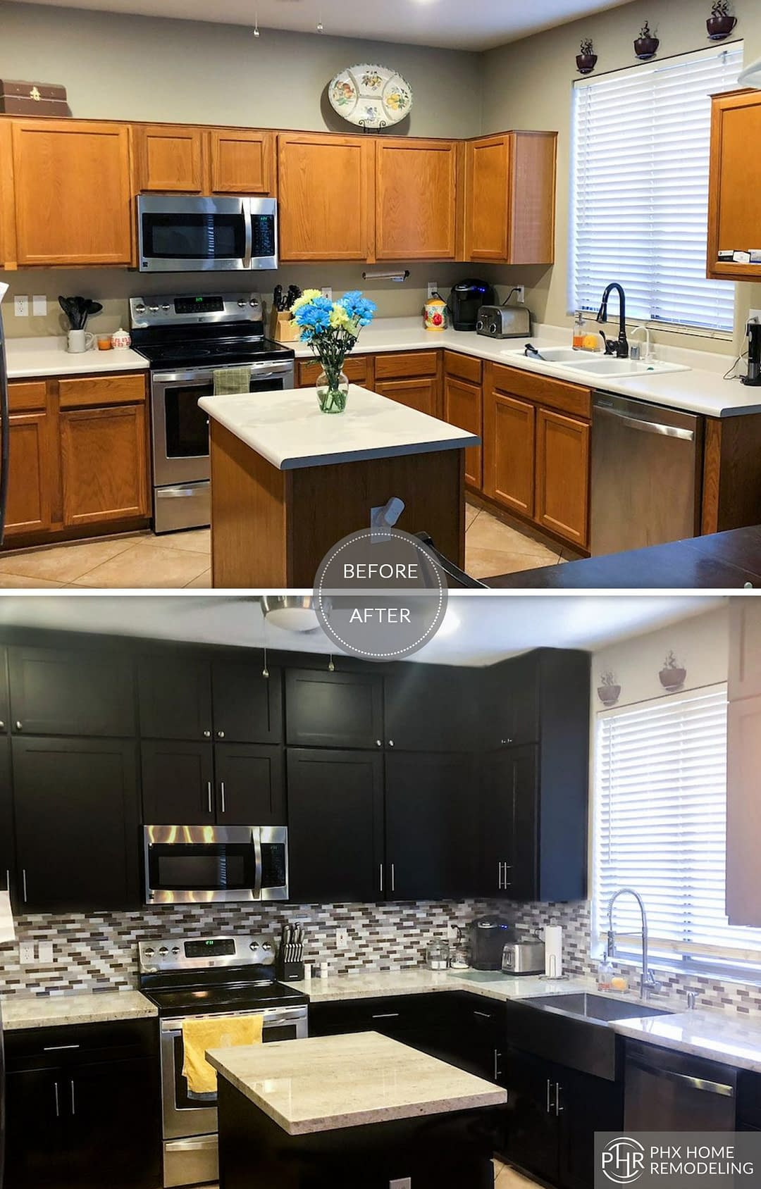 accent kitchen remodeling idea in chandler