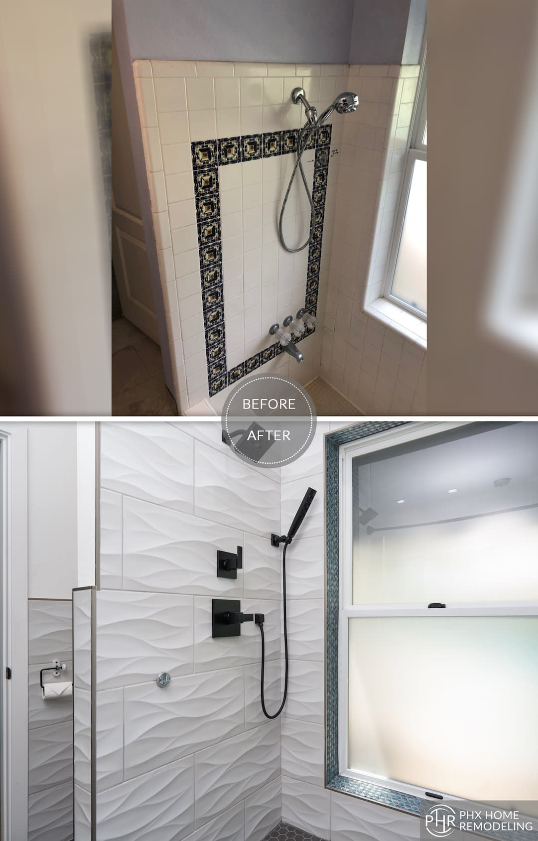 beautiful master bathroom shower remodel