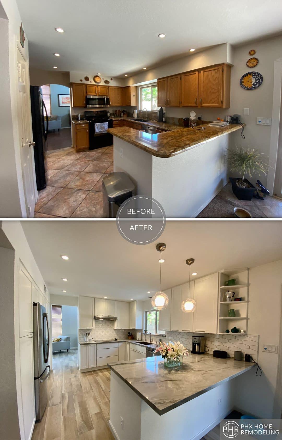 kitchen renovation remodel in phoenix