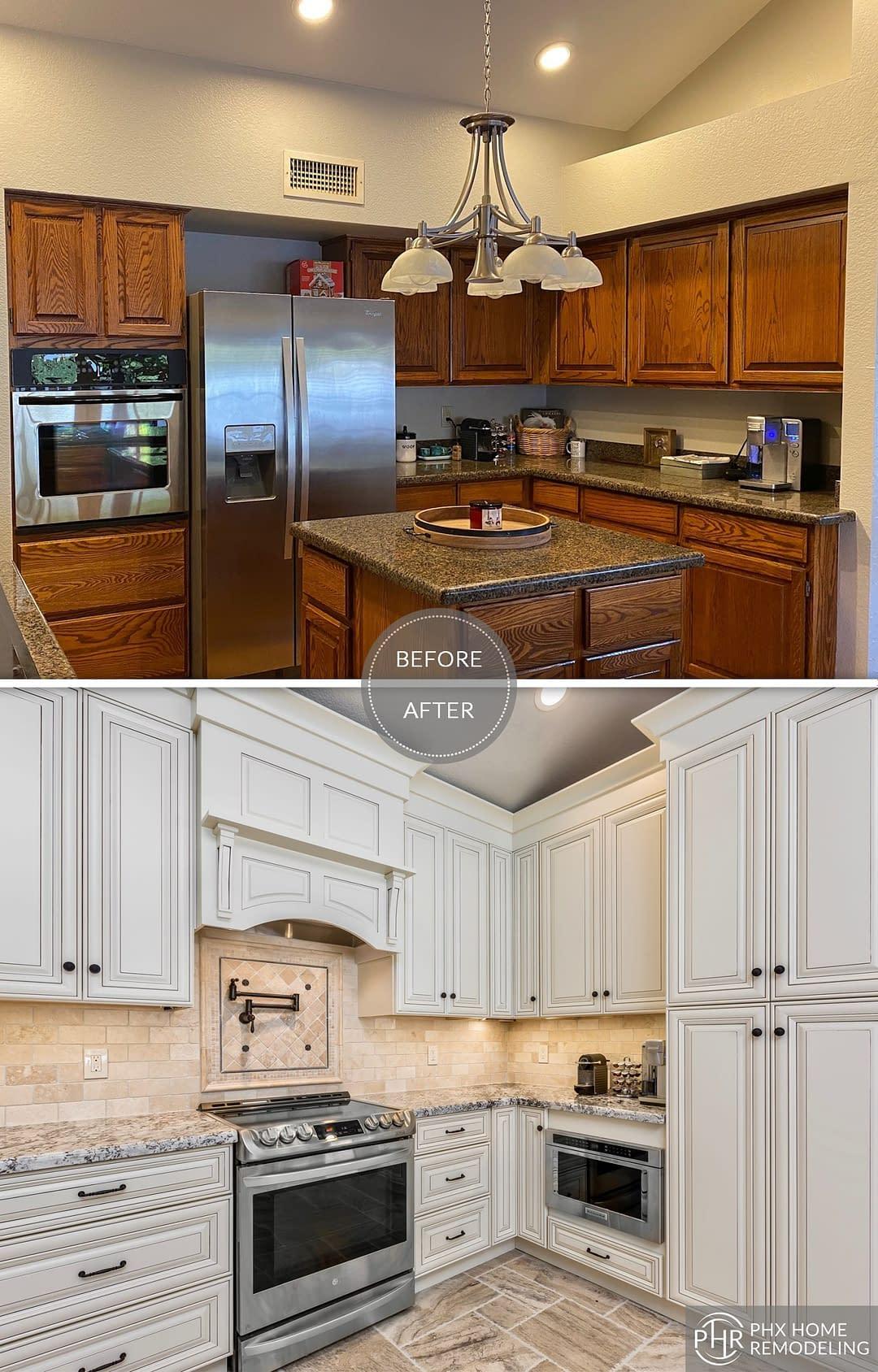 kitchen storage remodel in tempe