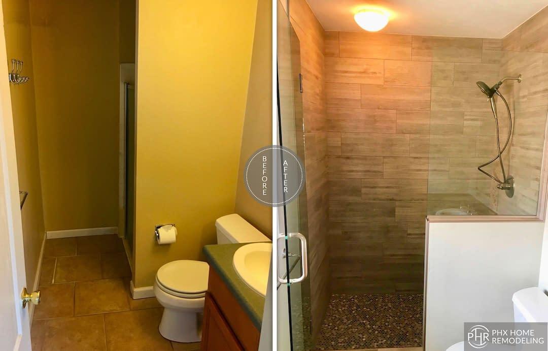 beautiful bathroom shower remodel