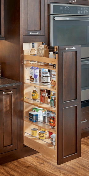 kitchen pantry storage two thirds