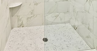 shower tile floor tips