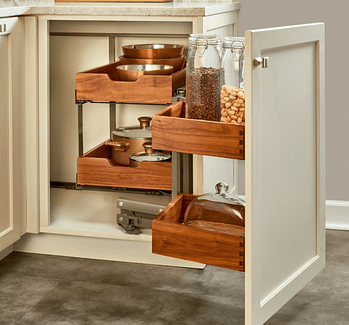 kitchen cabinet corner storage