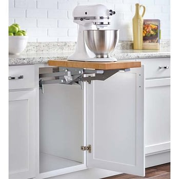 Kitchen storage mixer