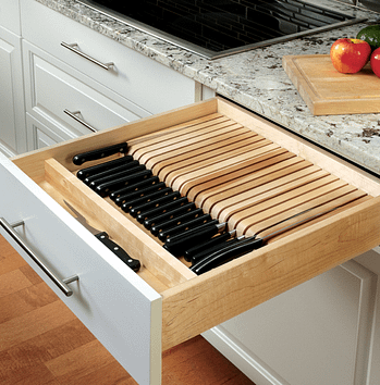 knife set organizer