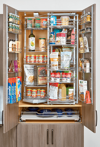 larger pantry organization