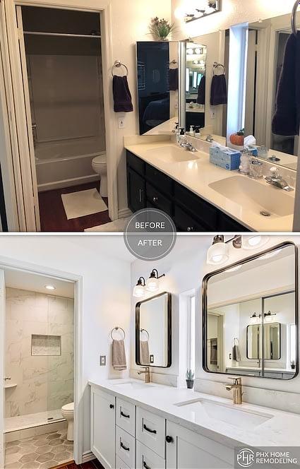 Ahwatukee bathroom remodeling