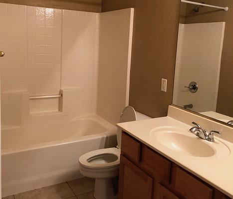 guest bathroom remodel Phoenix before