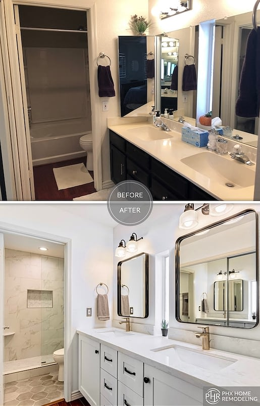 Gilbert az bathroom remodeling