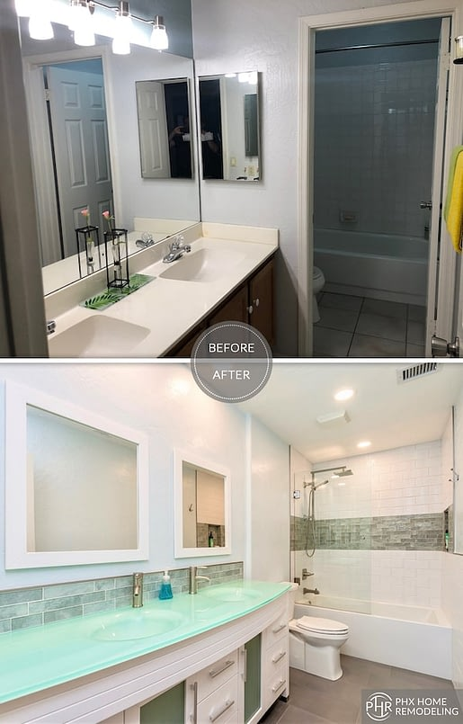 bathroom remodeling Gilbert