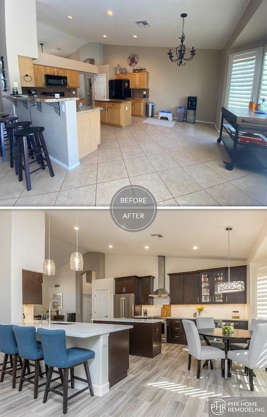 kitchen renovation in Phoenix