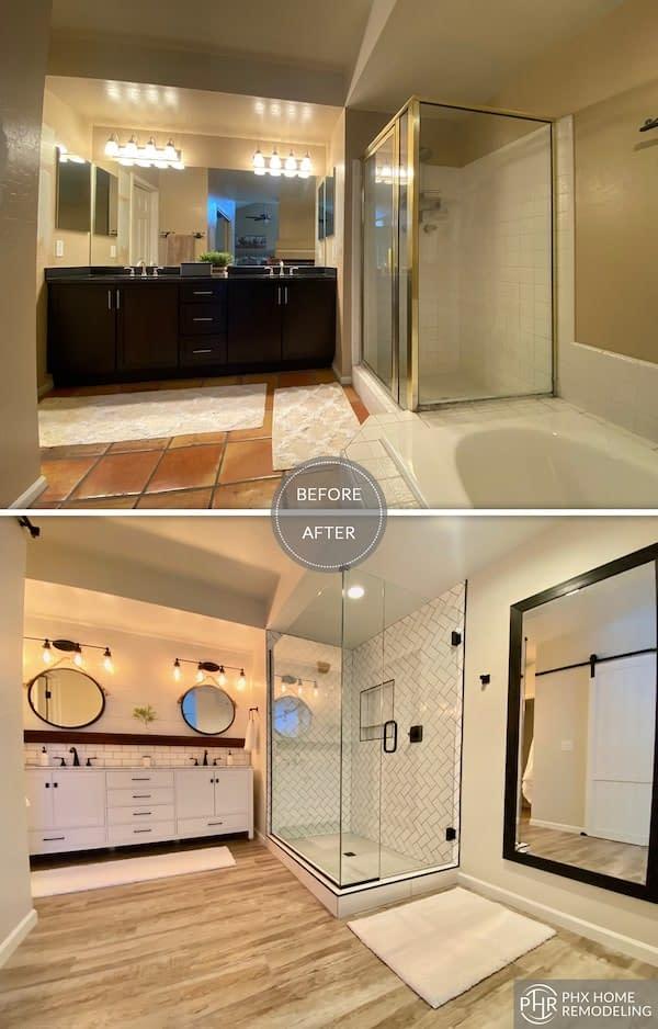 bathroom remodel Ahwatukee az