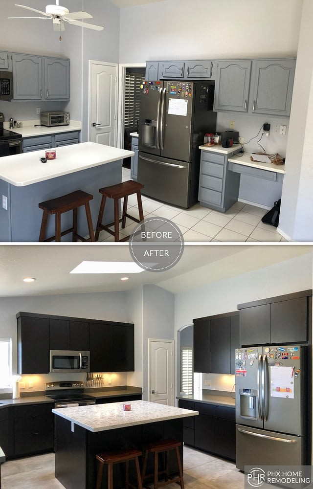 small kitchen remodel in phoenix