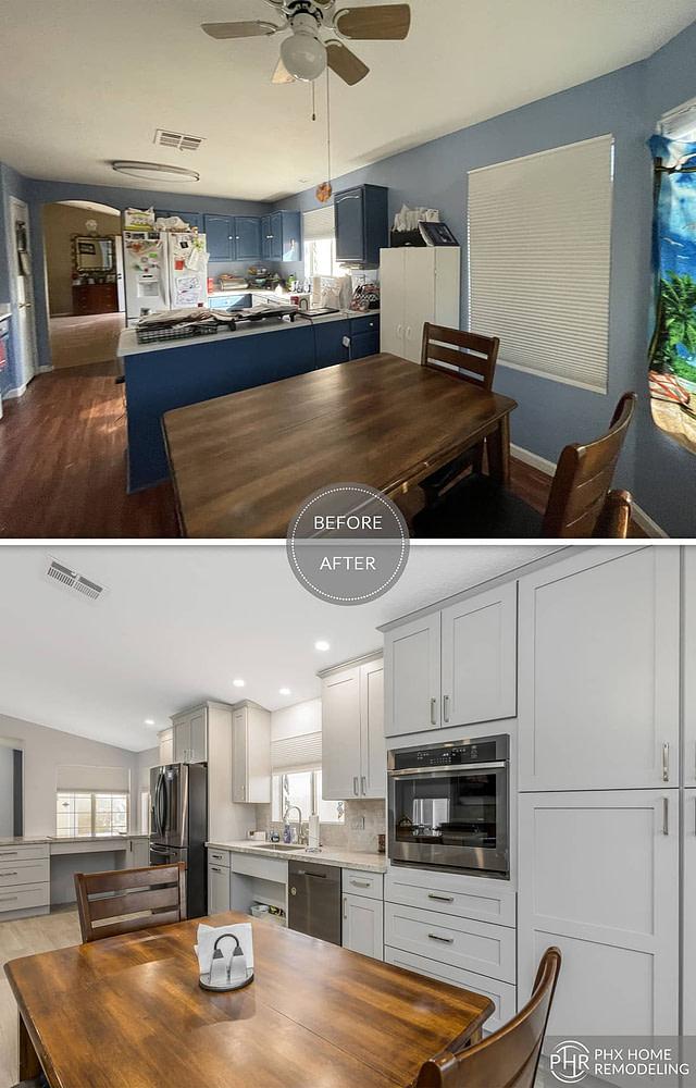 az kitchen flooring renovation in phoenix