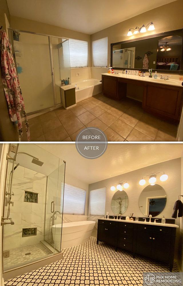 bathroom remodel in phoenix