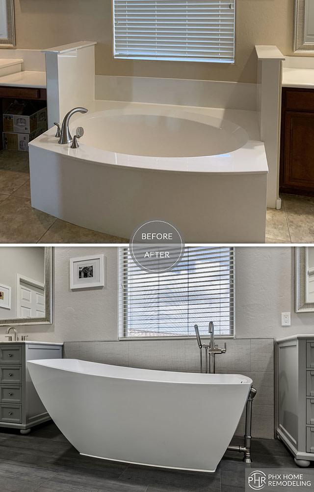 freestanding bathtub remodeling chandler