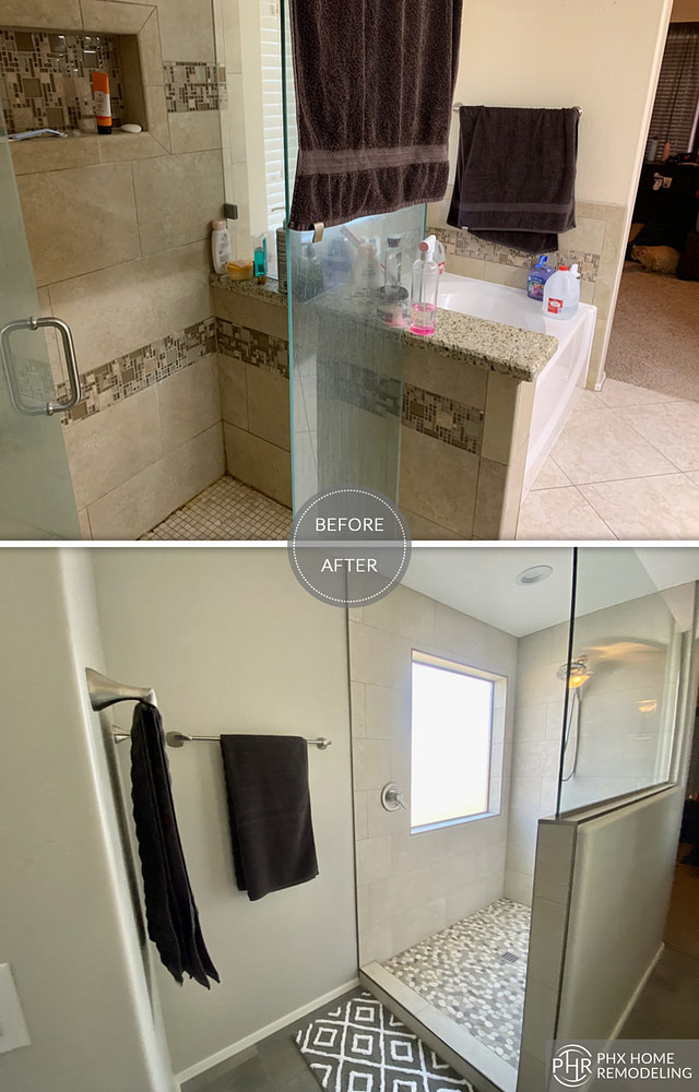 gilbert shower remodel in arizona