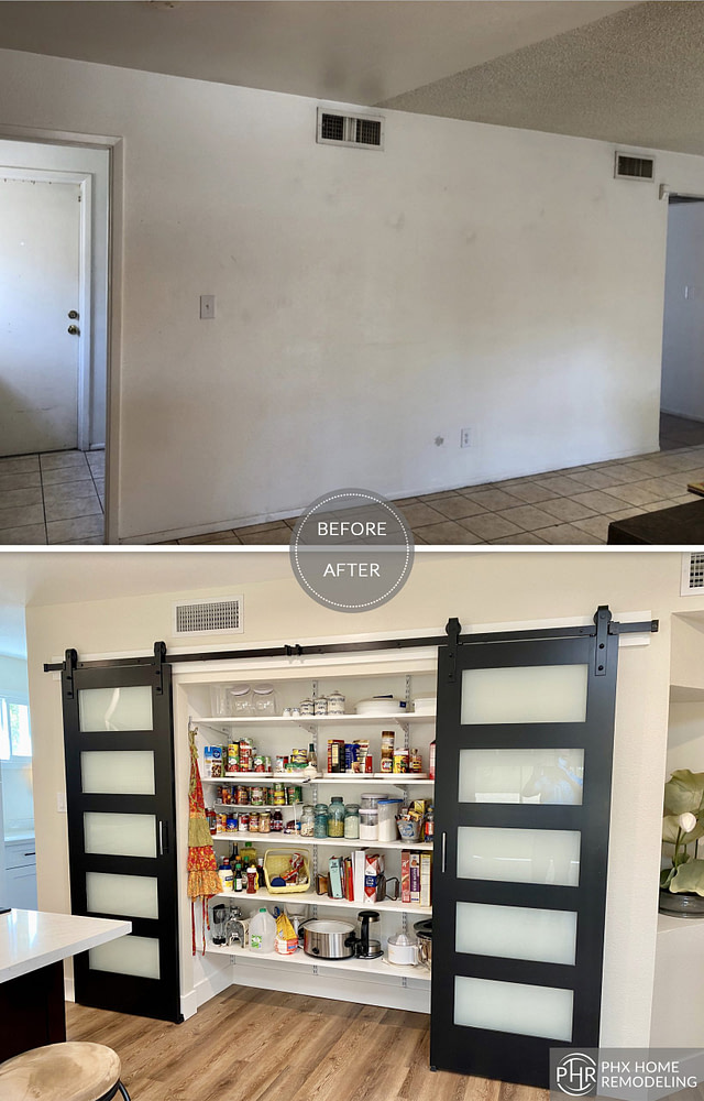 kitchen pantry remodel in tempe