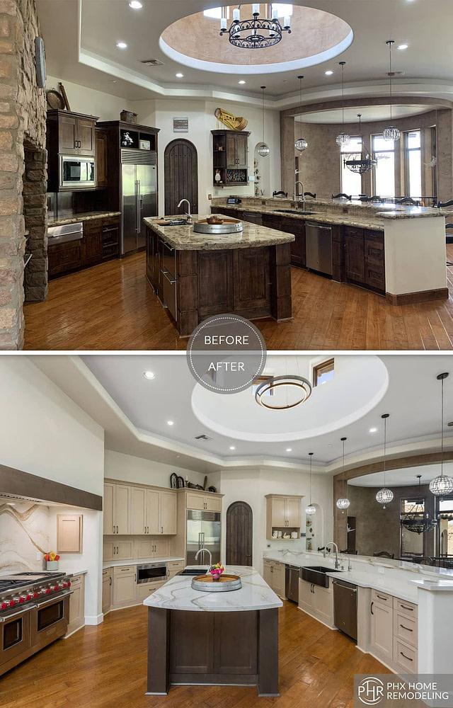 large kitchen renovation in phoenix az