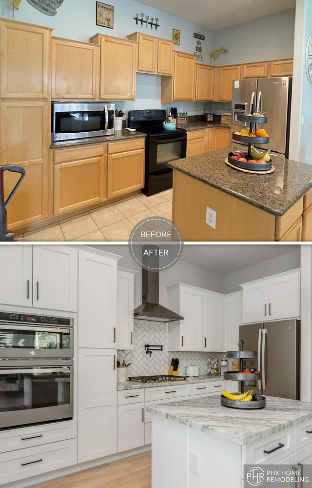 new cabinet kitchen remodel in ahwatukee az
