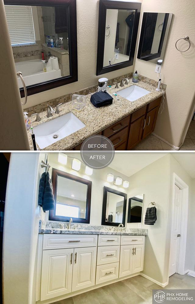 nice master bathroom renovation gilbert az