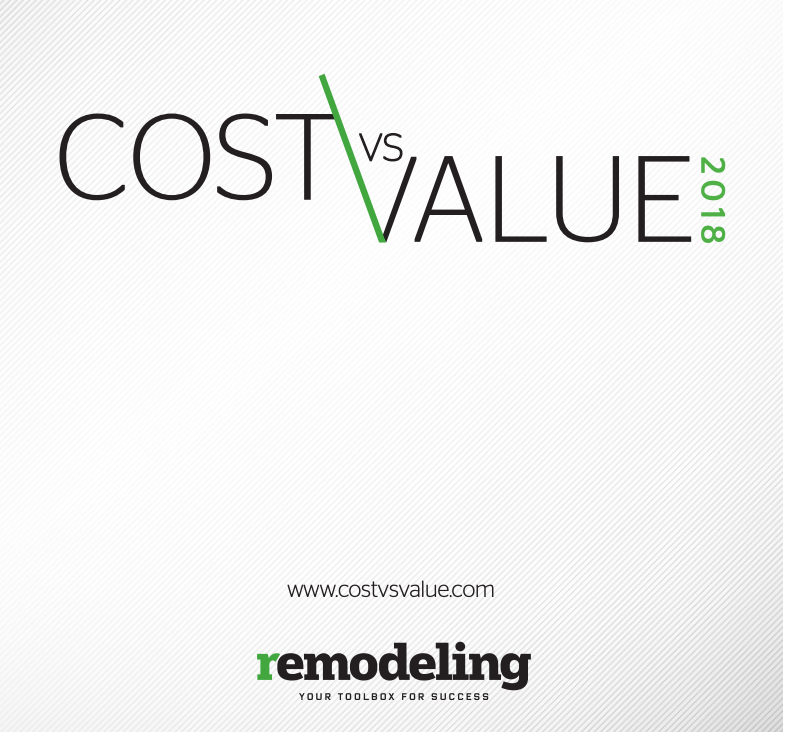 cost vs value remodel project prices
