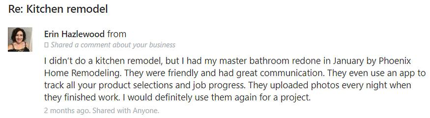 Erin Hazelwood Review Master Bathroom