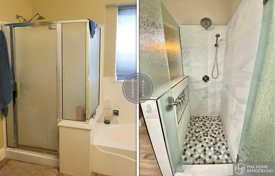 shower remodel in chandler 3