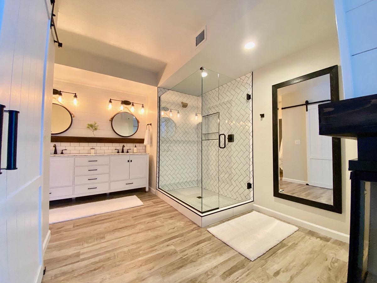 design build bathroom
