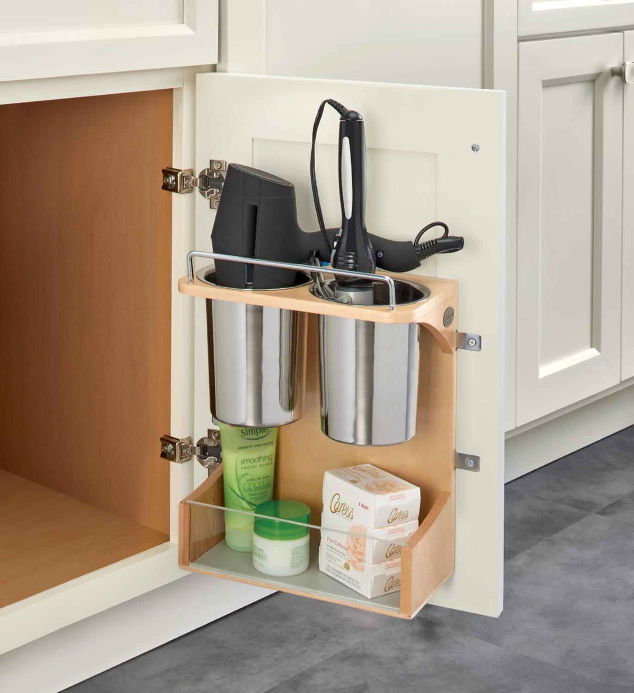 bathroom storage door holder