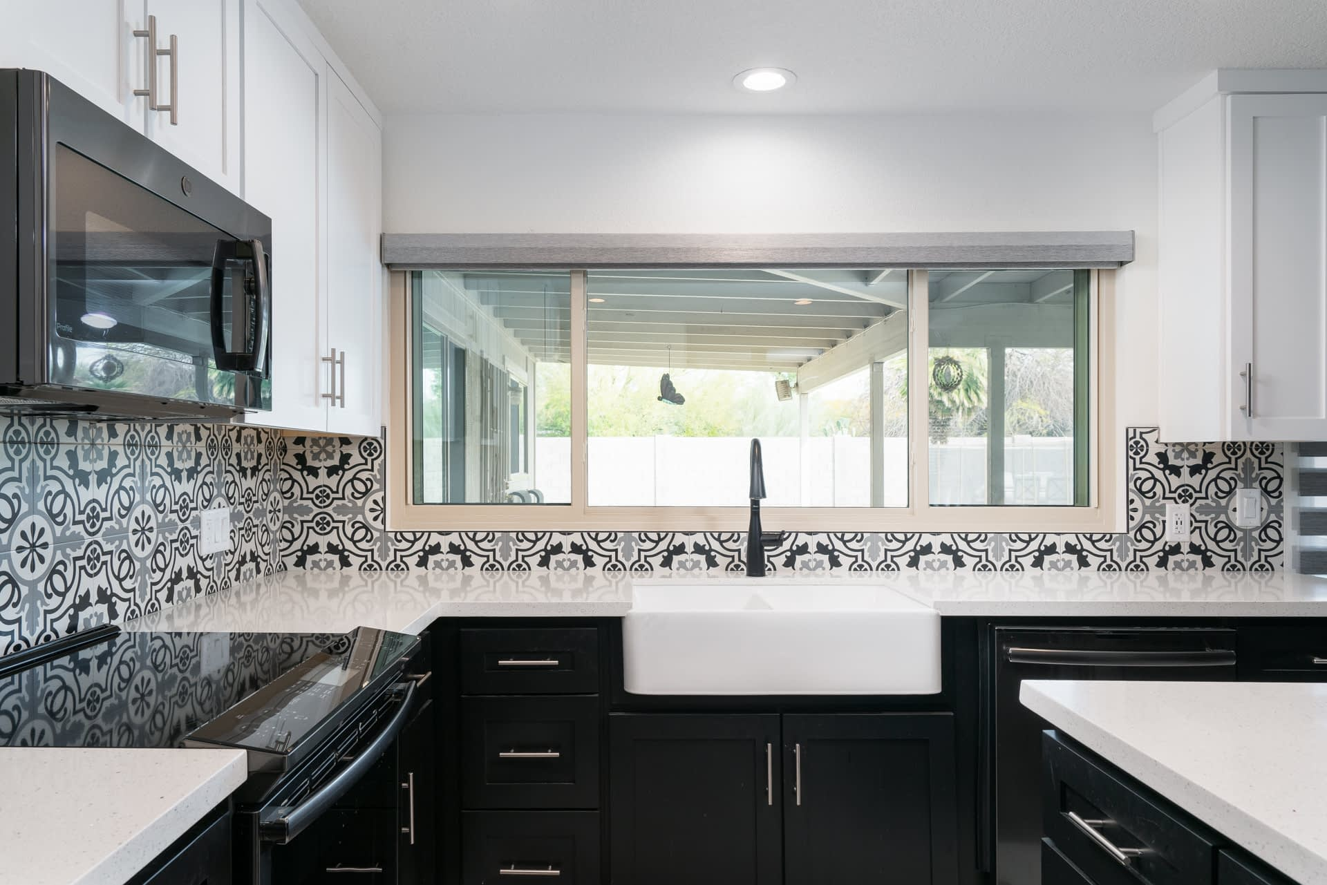 Kitchen remodel Ocotillo after photo