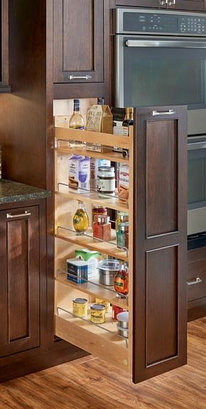 kitchen pantry storage two thirds