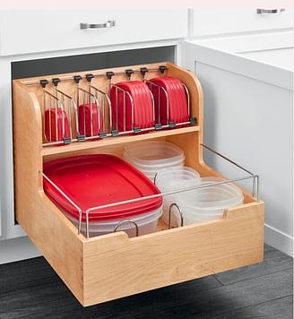 kitchen tupperware storage