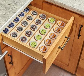 keurig cup storage drawer