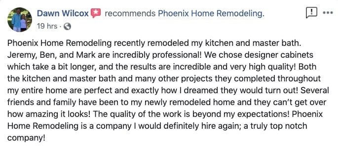 Dawn Wilcox Review of PHR