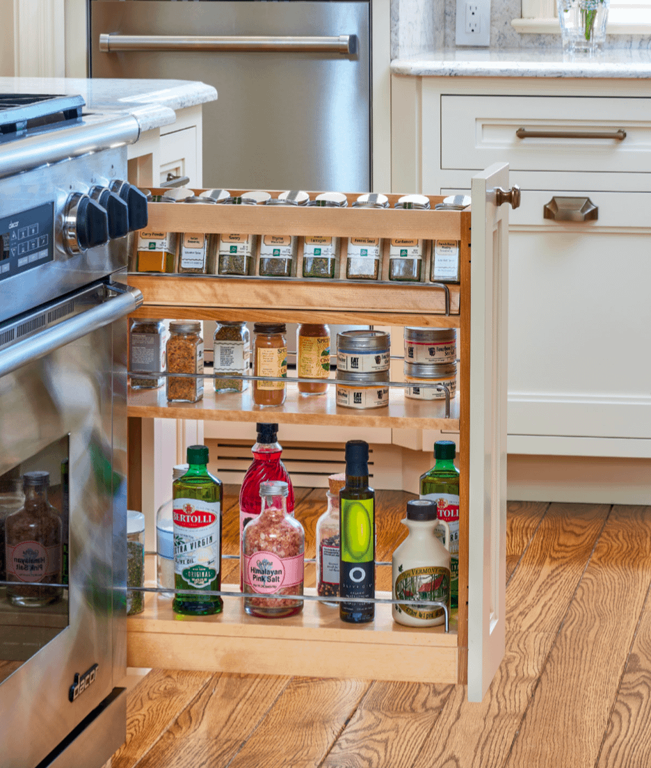 spices and bottles organizer
